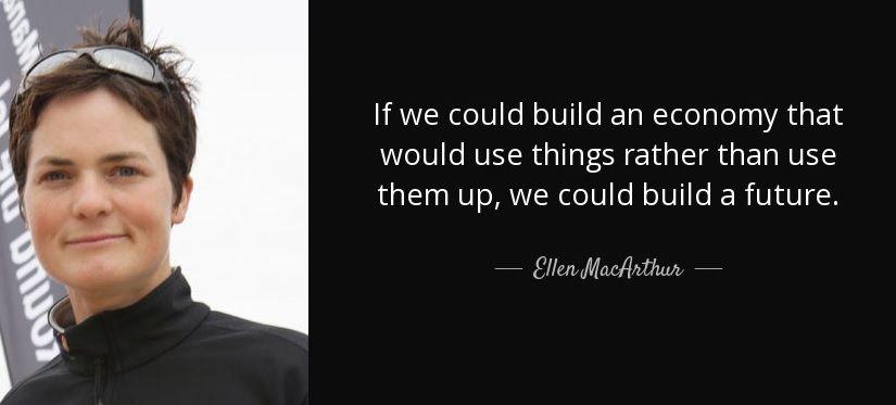 Ellen MacArthur economia circular