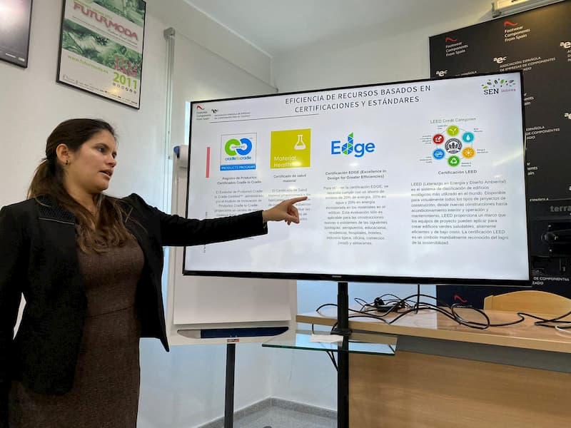 Mayra Lacruz Directora general de SEN innova recursos