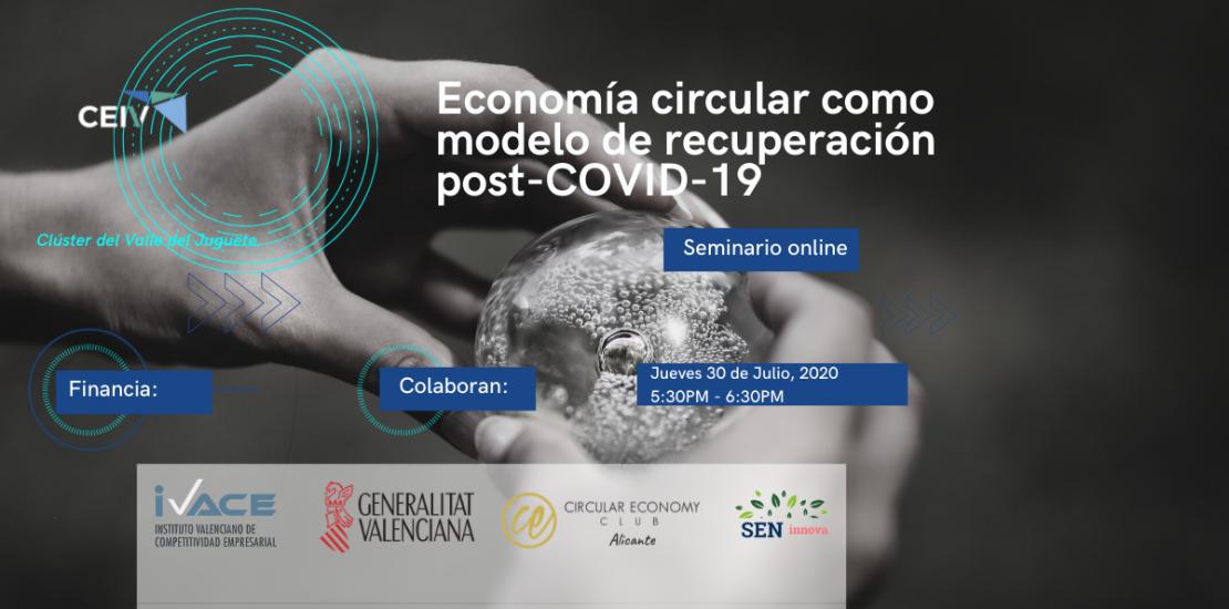 economía circular puede servir como modelo de recuperación para empresas